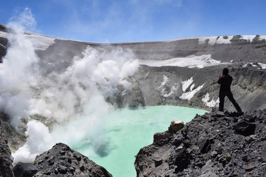 Andes Ascent, Cráter Tupungatito