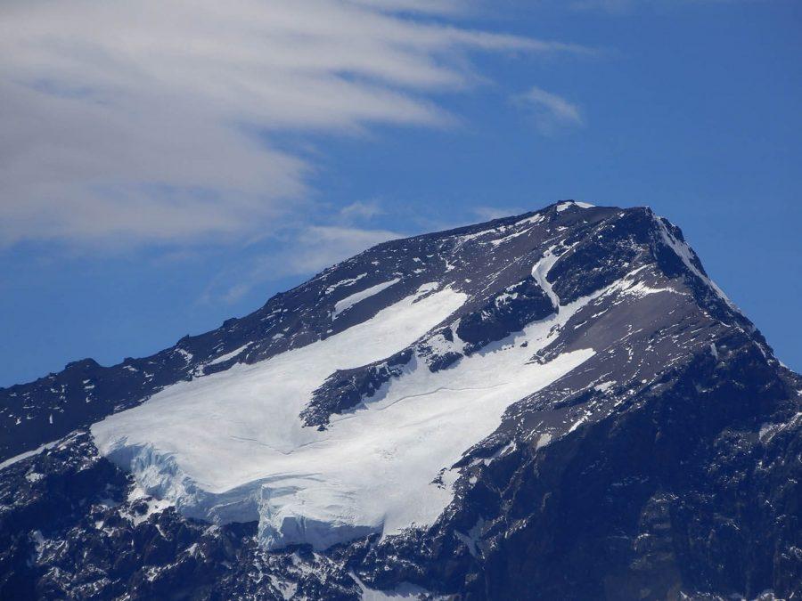 Franco Buglio, Glaciar Nevado del Plomo