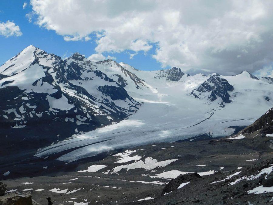 Camila Oyarzún, Glaciar Juncal Sur
