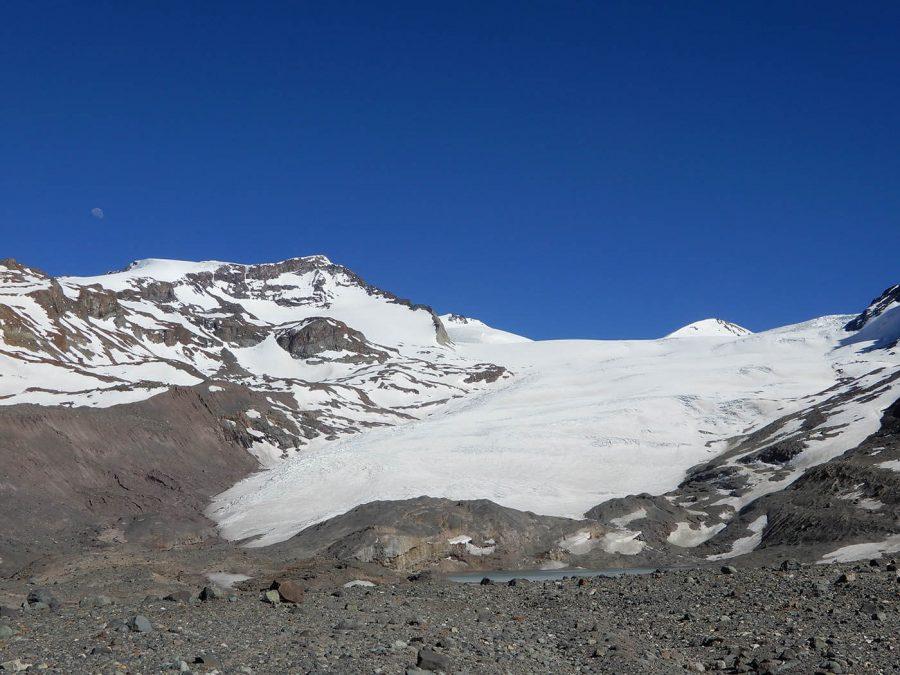 Franco Buglio, Glaciar Olivares Gama