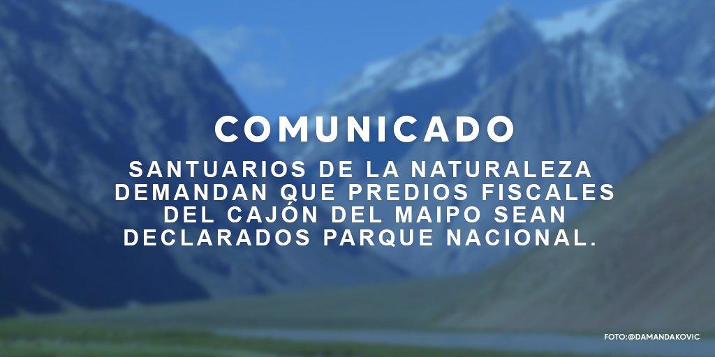 Declaración Santuario de la Naturaleza RM
